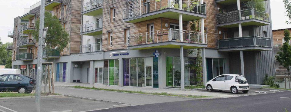 clinique depuis la rue